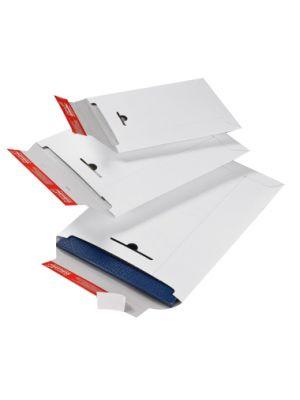 ColomPac® Verzendenvelop Massief wit 210 x 265 mm met plak- en scheurstrip