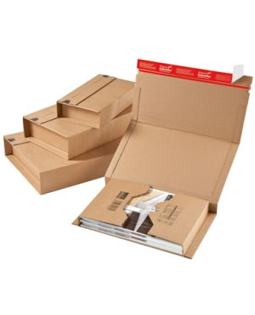 ColomPac® Boekverpakking 147 x 126 mm met plak- en scheurstrip
