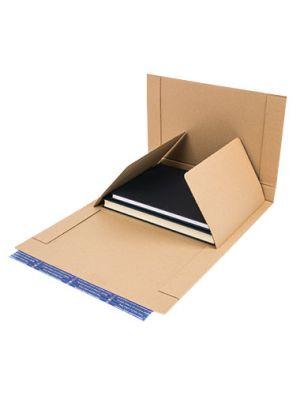 Boekverpakking 6 325 x 250 x 22 - 127 mm
