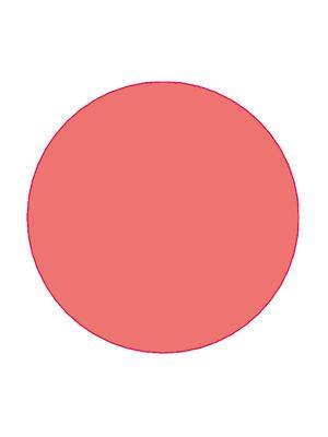 Etiket 30mm rond volvlak rood mc wik 1b rol a 1000