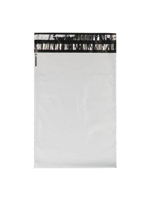 Verzendzak LDPE 250 x 350 + 60 mm dubbele plakstrip