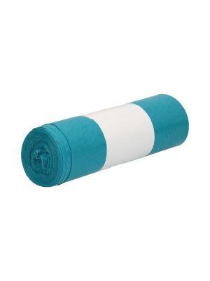 Afvalzak rldpe 22my 70x110cm blauw rol a 10 st