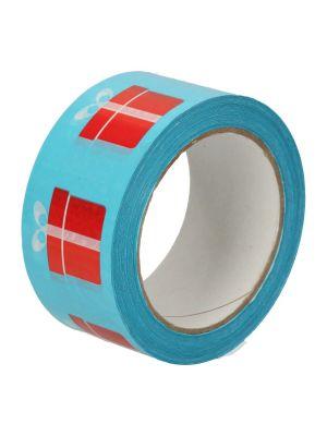 Tape pvc blauw 50mmx66mtr Giftbox