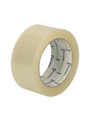 PrimeSource tape PP transparant 50 mm x 66 mtr