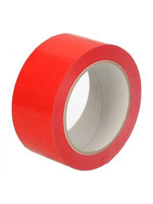 Tape PVC rood 48 mm x 66 mtr