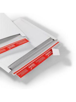 ColomPac® Verzendenvelop Massief wit 227 x 160 mm A5 met plak- en scheurstrip opening lange zijde