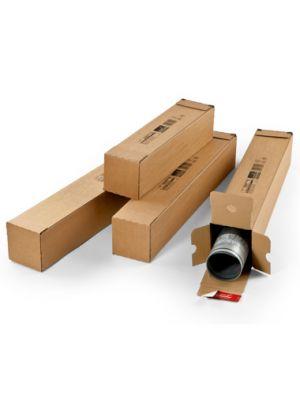 ColomPac® Verzendkoker vierkant 610 x 108 x 108 mm met plak- en scheurstrip