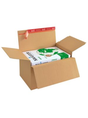 ColomPac® Varibox 305 x 228 x 70-160 mm met autolock en plak- en scheurstrip