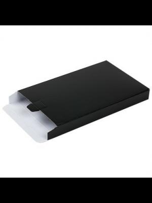 Brievenbusdoos A5+ met zijklep zwart 255 x 160 x 28 mm