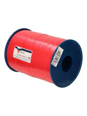 Cadeaulint 10 mm / 250 m rood