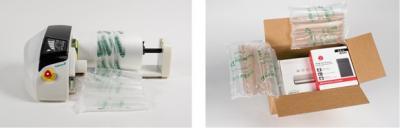 Produceer snel en eenvoudig plastic opvulmateriaal op jouw werkplek