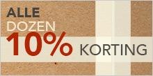 Dozen 10% korting