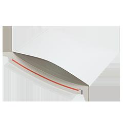 Enveloppen karton opening lange zijde