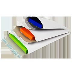 Enveloppen karton opening korte zijde